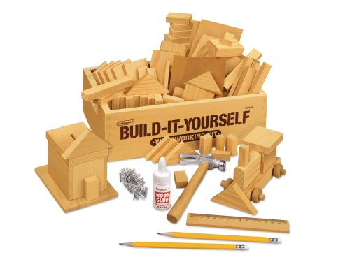 Build-It-Yourself Woodworking Kit (Woodworking Tools For Kids compare prices)