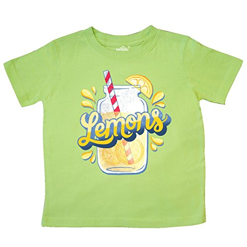 inktastic - I Love Lemonade with Illustrated Toddler T-Shirt 2T Key Lime 2fdcf