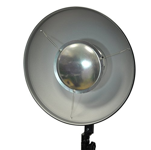 Opteka Bd 100 12 Inch Beauty Dish 10 Inch Snoot