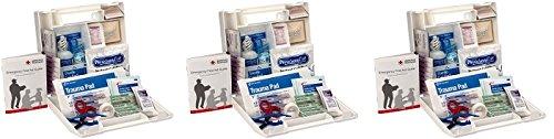 First Aid Only 25 Person Bulk First Aid Kit, 106-Piece Kit (3-Pack)