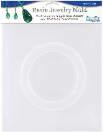 Yaley Deep Flex Resin Jewelry Reusable Plastic Mold: 1/2