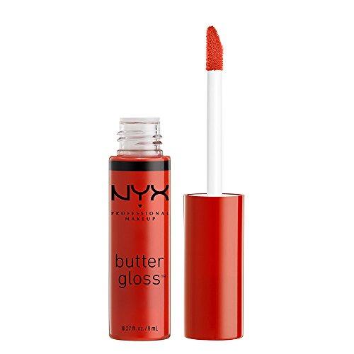 NYX Professional Makeup Butter Gloss, Strawberry Jam, 0.27 Fluid - Gloss Jam Lip