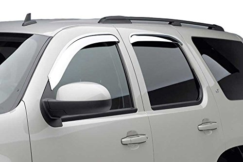 Black Horse 240610 Rain Guards Rain Visors Sun Visors Sun Deflector Window Visor - (Ford Explorer 2004 Sun Visor)
