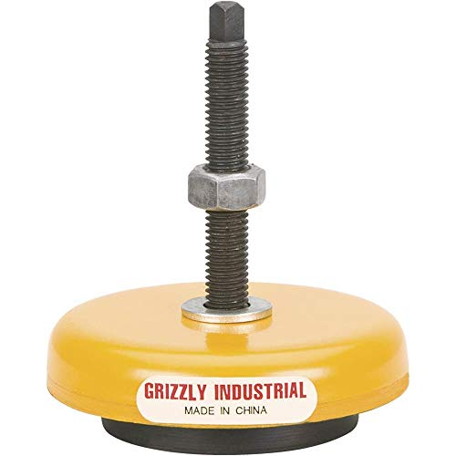 Grizzly G7159 Machine Mount of 1600-Pound Capacity, 3-Inch