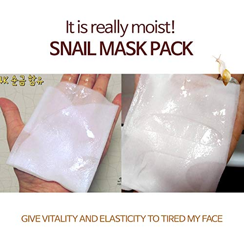 [Elizavecca] Milky Piggy 24K Gold Water Dual Snail Mask 10Sheets / gold  face mask