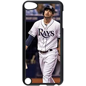 MLB IPod Touch 5 Black Tampa Bay Devil Rays cell phone cases&Gift Holiday&Christmas Gifts NADL7B8826791