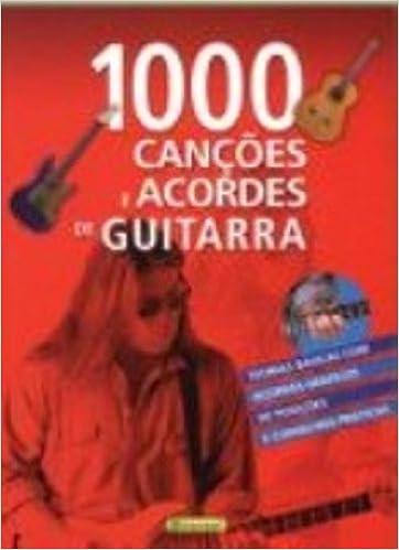 1000 Canções E Acordes De Guitarra Em Portuguese do Brasil: Amazon ...