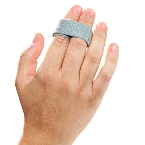 3-Point Products 3pp Buddy Loops for Jammed and Broken Fingers 3/4'' wide Gray (Pack of 5) by 3-Point Products