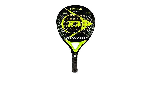 DUNLOP Omega Tour Pala Padel 38mm Yellow: Amazon.es: Deportes y ...