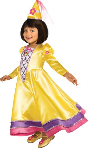 Rubies Dora The Explorer Magic Fairy Princess Child Costume, Toddler (World Explorer Costume)