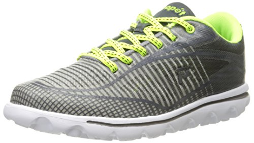 Propet Women's Lime Grey Walking Billie Shoe 1R4Fq1g