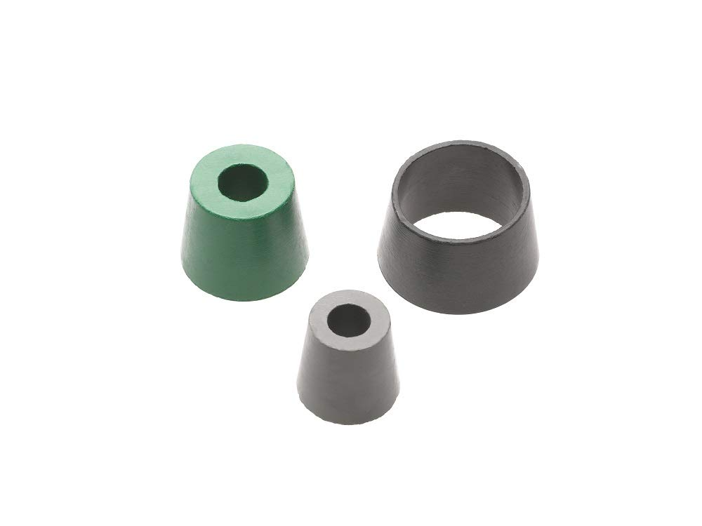 3//8 NPT Thread Size Max-Loc Cord Seal Black Grommet Color Right Angle Male .250 .312 Cable Diameter Woodhead 00-4962 Cable Strain Relief Grip Grommet
