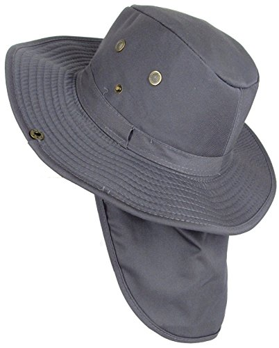 The Hat Jungle boonie Bucket Hat Neck Flap Tactical Wide Brim Outdoor - Hat Jungle Boonie