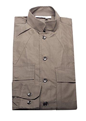 Yves Saint Laurent Men's Cotton Hook Collar Dress Shirt - Laurent Saint Yves Clothes