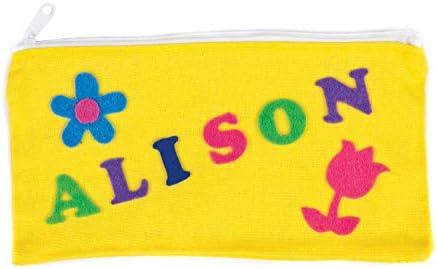 Baker Ross- Letras Mayúsculas de Fieltro Autoadhesivas (Pack de 550) para Decorar Tarjetas y Manualidades Infantiles: Amazon.es: Hogar