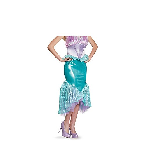 [5QHkjds17 Sexy Women's Ariel Deluxe Adult Costume, Multi, Small] (40s Nurse Costume)