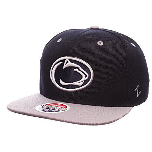 NCAA Penn State Nittany Lions Men's Z11 Snapback Hat, Adjustable Size, Team Color