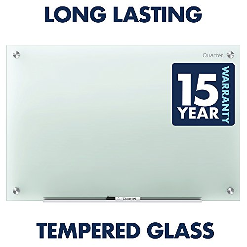 Quartet Glass Whiteboard, Non-Magnetic Dry Erase White Board, 8' x 4', Infinity, Frosted Surface (G9648F) by Quartet (Image #4)