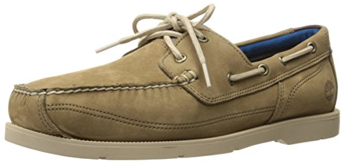Timberland Men's Piper Cove Fg Boat Shoe, Java Naturebuck, 15 M US by Timberland