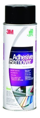 3M Adhesive Remover - Low VOC <20% Clear, 24 Fl Oz Aerosol, Net Wt 18.7 oz (Pack of 1)