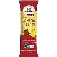 Barrinha de Aveia, Banana e Cacau Orgânica Monama Mini 25g