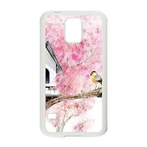 Tree Bird Customized Case for SamSung Galaxy S5 I9600, New Printed Tree Bird Case