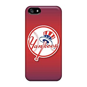 5/5s Scratch-proof Protection Case Cover For Iphone/ Hot New York Yankees Phone Case