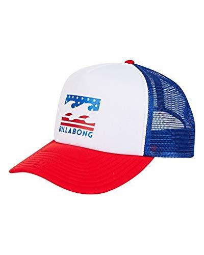 Billabong Men's Podium Trucker Hat Red/White One Size ()