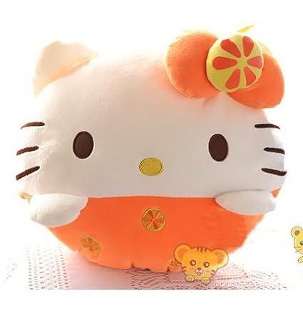 Amazon.com: Hello Kitty, la fruta serie almohada, cojín ...
