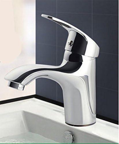 AWXJX シンク蛇口 バスルーム 銅 バスルーム Wc 洗面台 温水と冷水 単穴