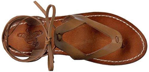 Flat Freebird Women's Natural Sandal Hippy wrEar