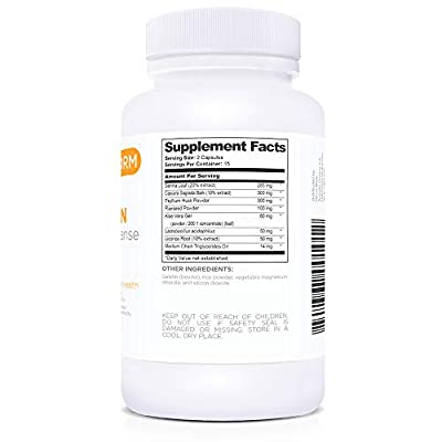 Multiform Vitamins Colon 15 Day Cleanse - Support Detox (30 Capsules)
