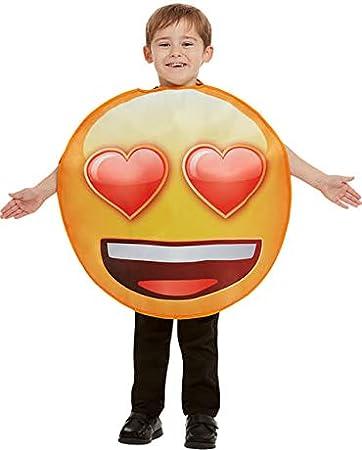 Funidelia Disfraz de Emoji Sonriente con Ojos de corazón Infantil ...