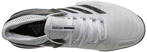 adidas Adizero Ubersonic 2, Scarpe da Tennis Uomo Bianco (Ftwwht/Cblack/Gretwo Ftwwht/Cblack/Gretwo)
