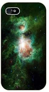 iPhone 5 / 5s Nebula - black plastic case / Space, star, stars