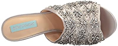 Blue by Betsey Johnson Women's Sb-Jaxon Mule