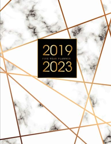 - 2019-2023 Five Year Planner: Elegant Marble, 60 Months Calendar, 5 Year Appointment Calendar, Business Planners, Agenda Schedule Organizer Logbook and ... (5 Year Monthly Planner 2019-2023) (Volume 5)
