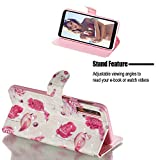 Amocase Wallet Case with 2 in 1 Stylus for Samsung