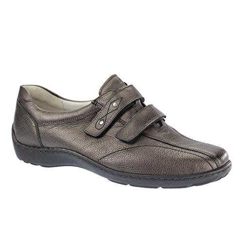Zapatos Waldläufer 014 con Gris velcro de cierre Henni 496301 ttqwpCBP