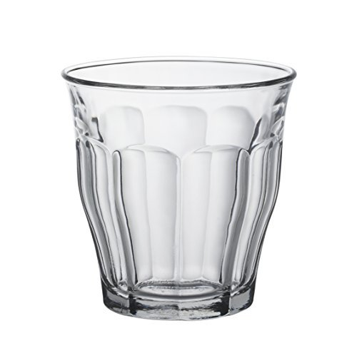 Duralex 25 cl Picardie Tumbler, Pack of 6, Clear Glass by Duralex