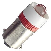 Eiko - LED-24-BA9S-Y - Yellow Miniature Bayonet Base LED Light Bulb (Replaces 24MB, 28MB, 313, 757, 1818, 1819, 1820, 1829, 1843, 1864, 1873 Light Bulbs)