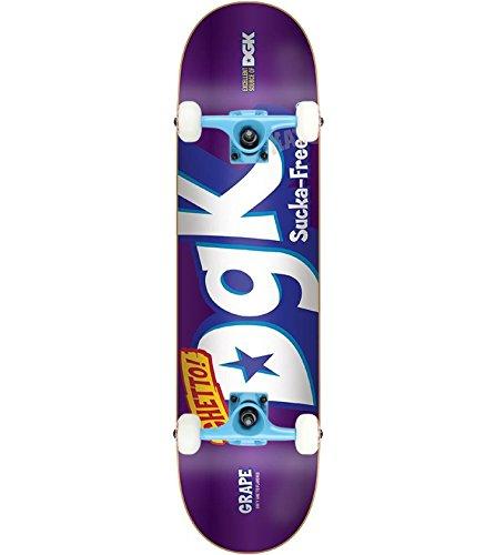 DGK Skateboard Complete Mix Up Foil Purple 8.25