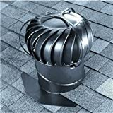 Airhawk 12'' Aluminum Externally Braced Wind Turbine Attic Vent
