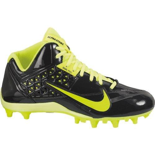 Nike Mens Speedlax 4 Lacrosse Schoenplaatjes Antraciet / Volt