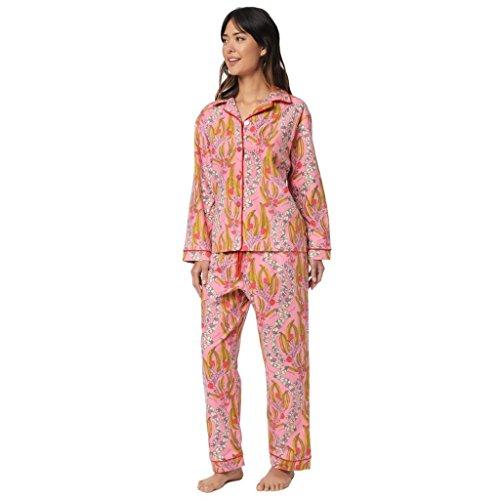 The Cat's Pajamas Miranda Flannel Pajama Extra-Small