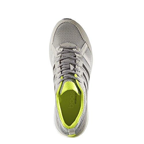 adidas Adizero Tempo 9 M, Zapatillas de Running para Hombre Gris (Gridos / Negbas / Amasol)