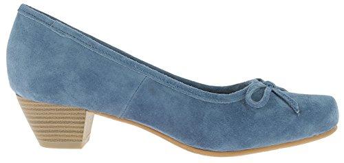 HIRSCHKOGEL Andrea Conti Damen 3003401 Pumps Jeans