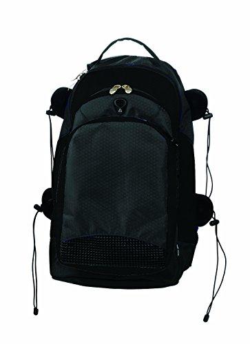 Martin Sports All Purpose Backpack, 600 Denier Nylon, Black/Black