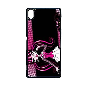Kawaii Back Phone Case For Girls Print With Monster High For Z3 Sony Choose Design 2