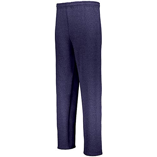 Russell Athletic Men's Dri-Power Open Bottom Sweatpants with Pockets, Navy, Large from Russell Athletic